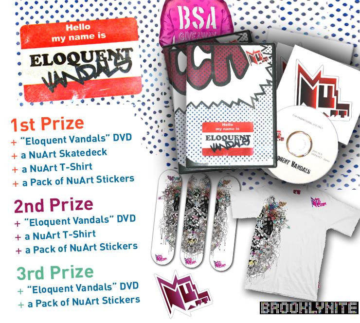 Giveaway-BSA-Brooklynite-Nuart-prizes