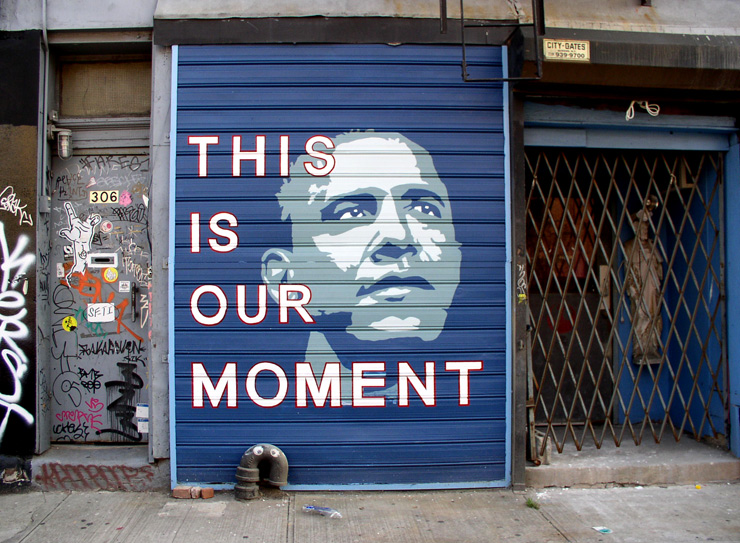 Hail to the Street : Presidents Day Street Art