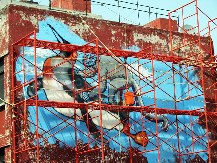 Brooklyn-Street-Art-Broken-Crow-WEB-Mexico-copyright-Broken-Crow-penquin-monkey-large-wall