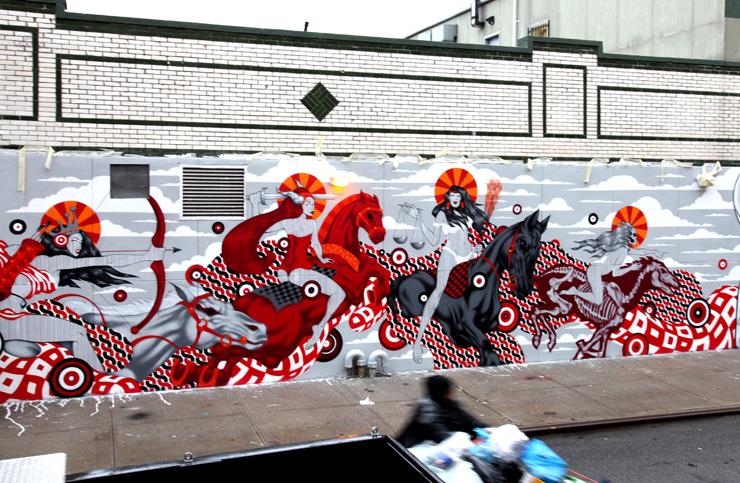 Street Artist Tristan Eaton Goes Biblical