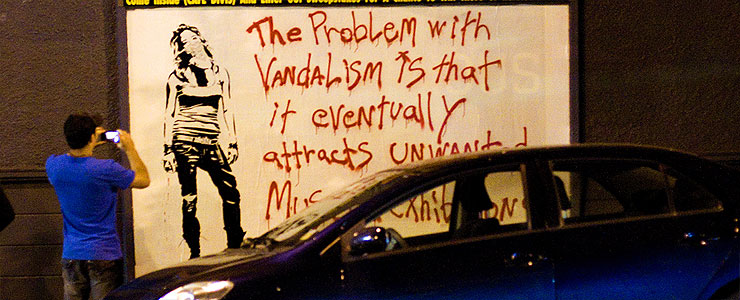 The Problem With MOCA : Street Art Talks Back