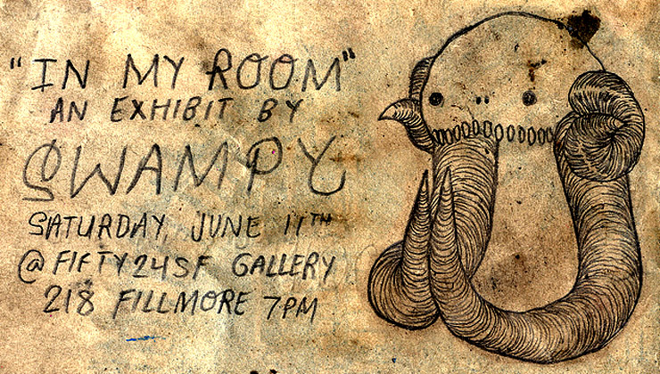 Fifty24SF Gallery Presents: Swampy