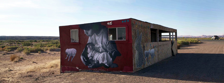 Jetsonorama on the Rez, ROA in Mexico (Video)