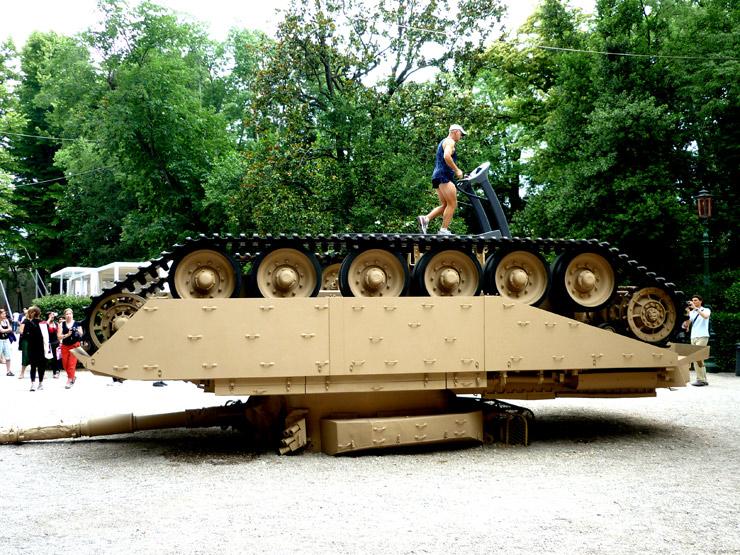 brooklyn-street-art-Lea Schleiffenbaum-venice-beinnale-2011-US Pavilion-Allora-Calzadilla, performance-outside-web
