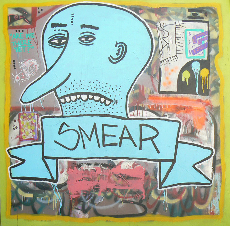 brooklyn-street-art-smear-The-Loft-Salon- Gallery-The-Site Unscene-fringe