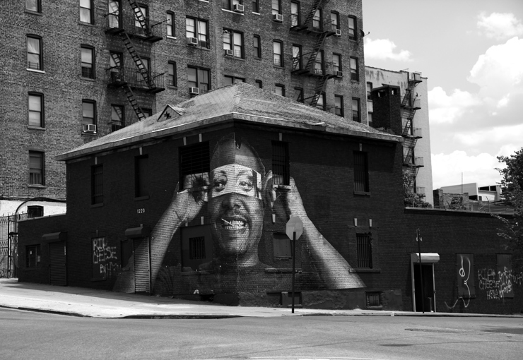 Jr Inside Out Project The Bronx New York 2011 Photo By