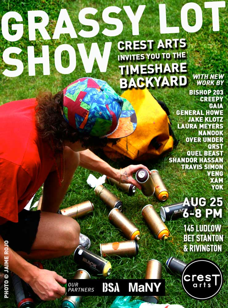 Crest Arts in Collaboration with BSA and MaNY Present: The Grassy Lot Show (Manhattan, NY)