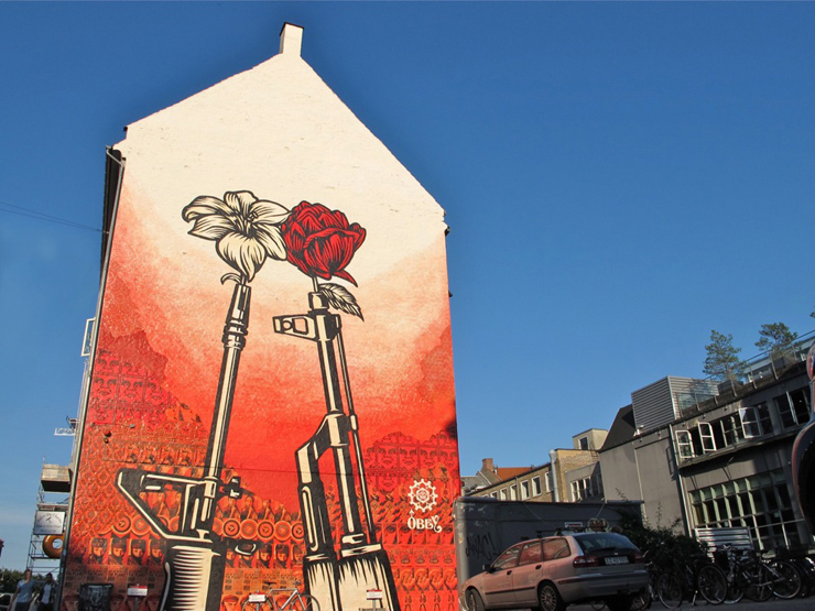 Shepard Fairey in Copenhagen for