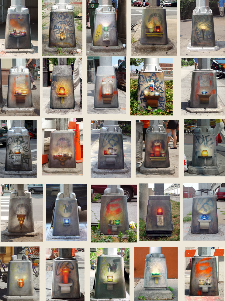 brooklyn-street-art-dan-witz-9-11-shrines- Montage