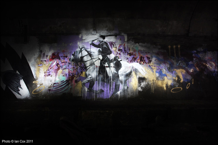 The Paris Underbelly Surfaces : A New Gallery Beneath the