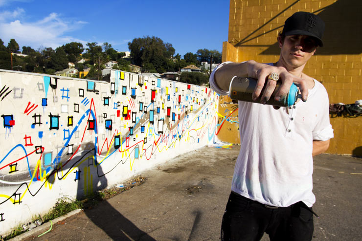 Gregory Siff Across a Wall in Echo Park