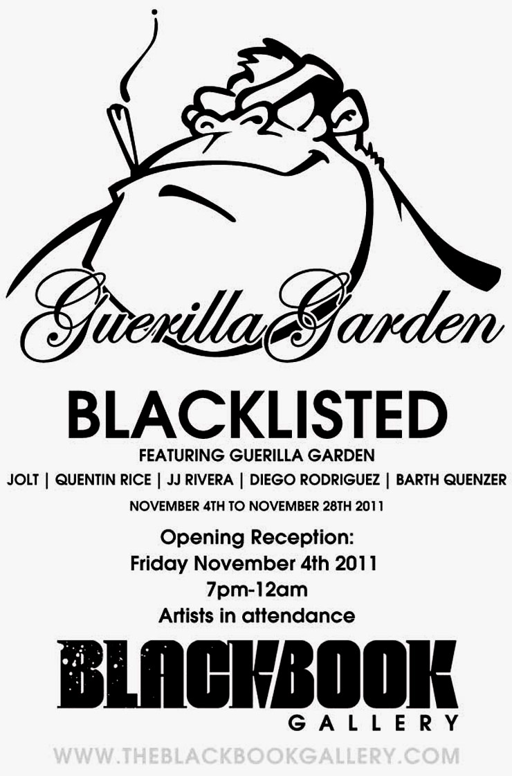 Black Book Gallery Presents: Guerrilla Garden