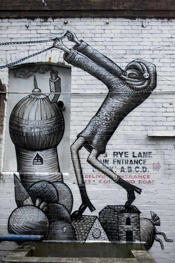 ROA and Phlegm Hiding in a Dark London Alley