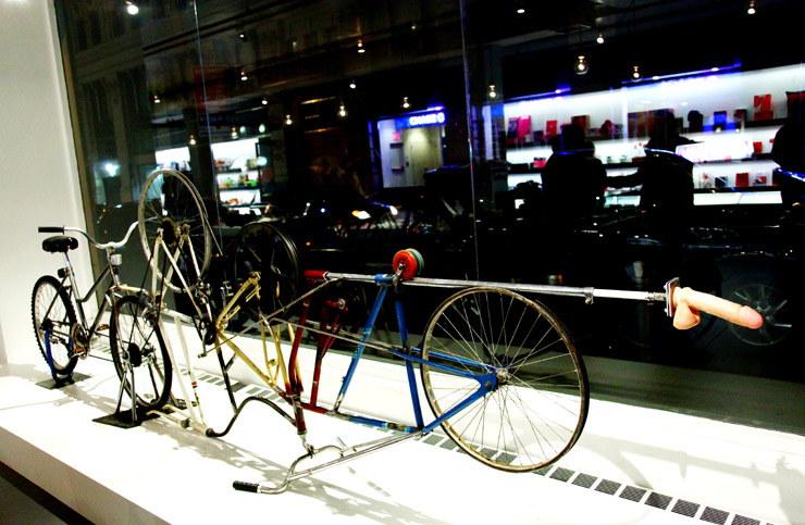 Thought bicycle fuck machine