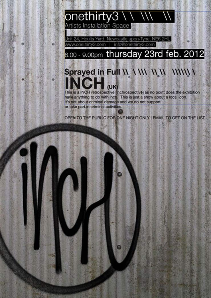 OneThirty3 Gallery Presents: Inch