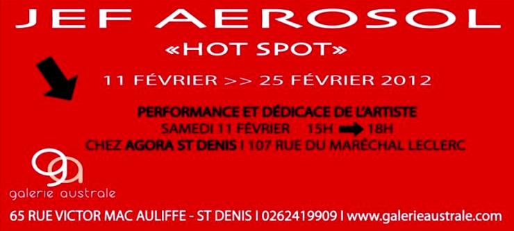 Galerie Austral Presents: Jef Aerosol