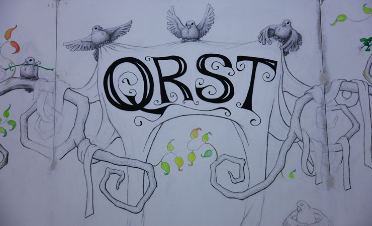 QRST Studio Visit and Interview