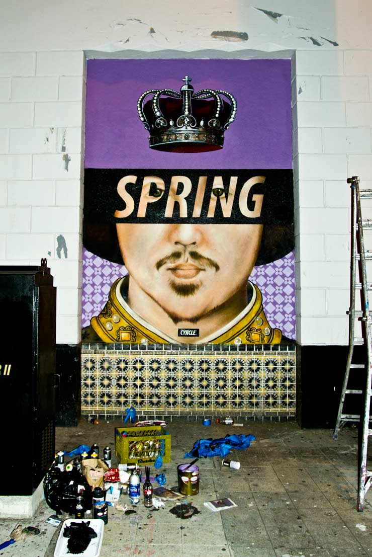 Spring is in the Air and on the Wall: Cyrcle in Los Angeles