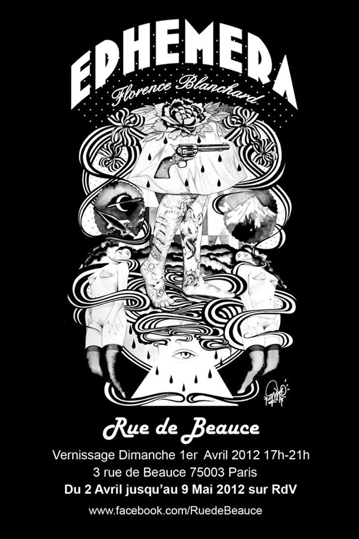 Rue  de Beauce Presents: Florence Blanchard AKA EMA: