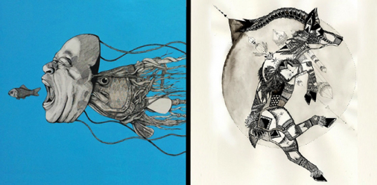 Living Walls Concepts Presents: New works featuring La Pandilla and Trek Matthews. (Atlanta, GA)
