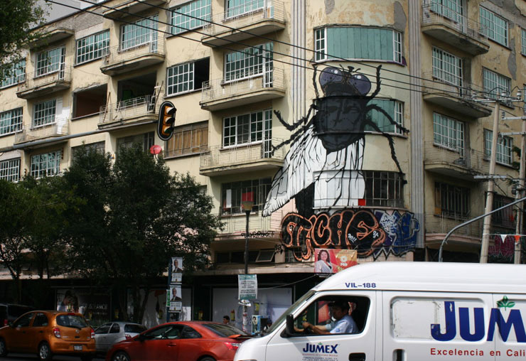 Mexico City : A New Surrealist Face for Street Art