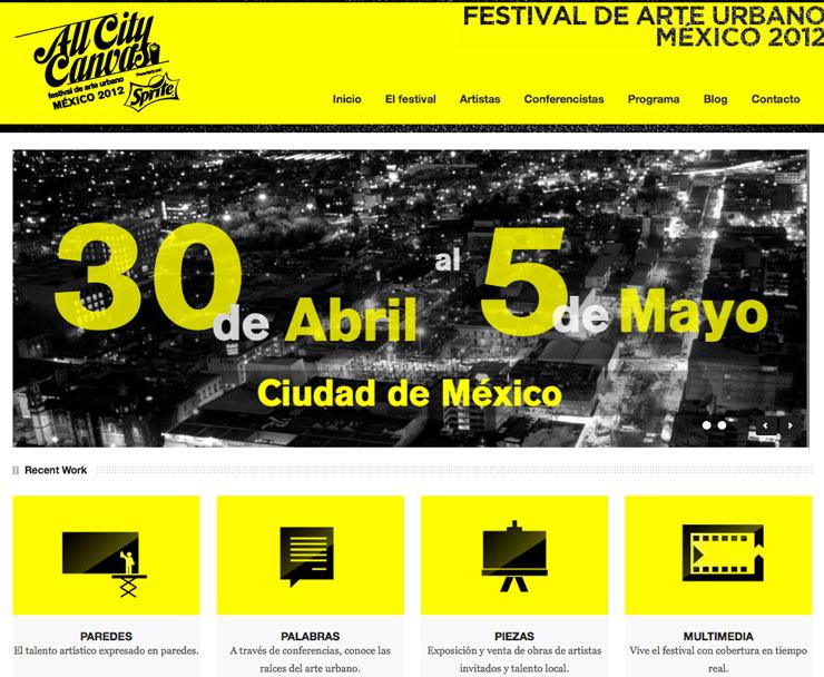 All City Canvas: Festival de Arte Urbano in Mexico City (Mexico City)