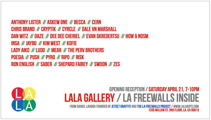 Lala Gallery Presents: