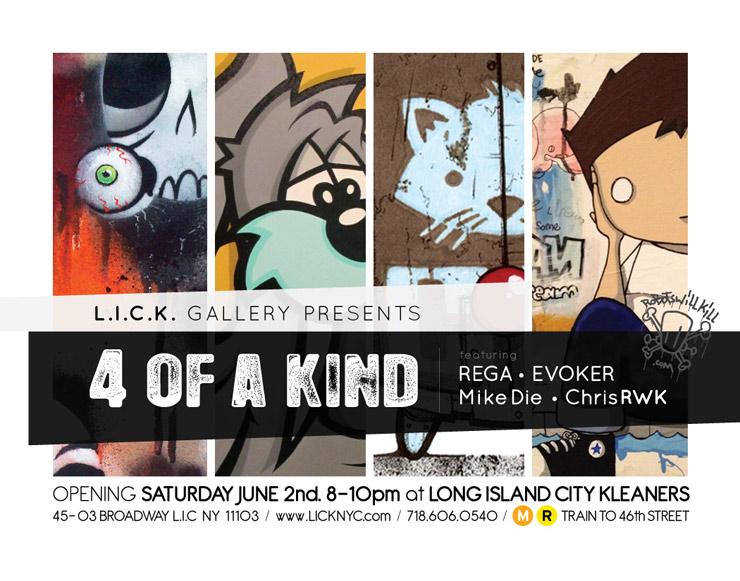L.I.C.K. Gallery Presents: