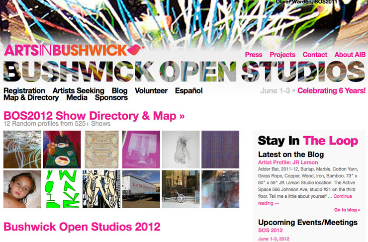 Arts In Bushwick Presents: Bushwick Open Studios 2012 (Brooklyn, NY)