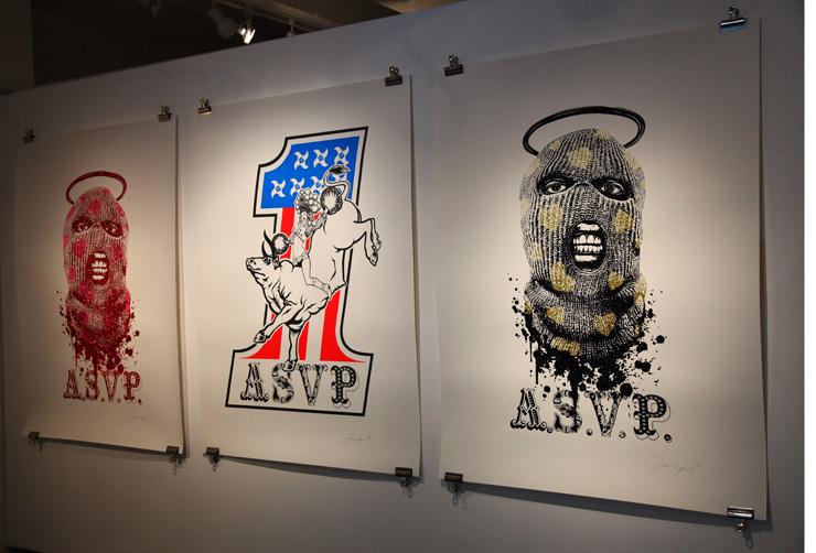 hendershot gallery new street art print show brooklyn street art. Black Bedroom Furniture Sets. Home Design Ideas