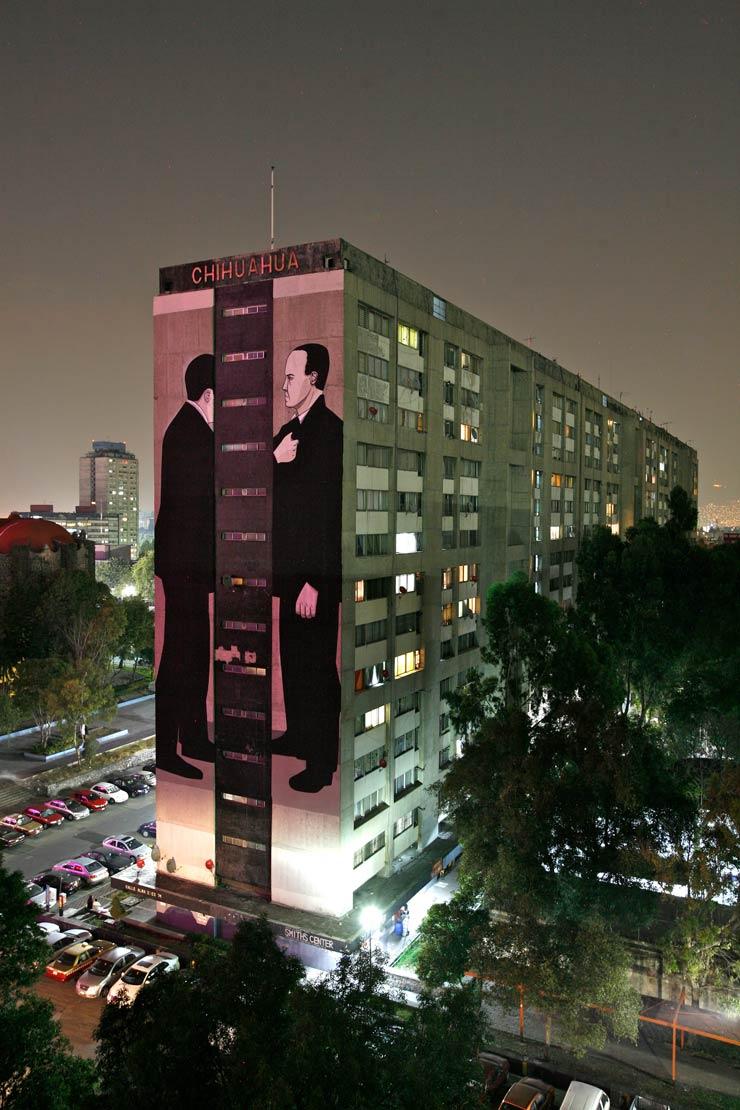 Mexico City: High Art In Thin Air : Brooklyn Street Art