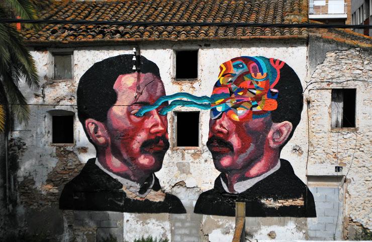 Seeing Spain Through the Eyes of Street Artist