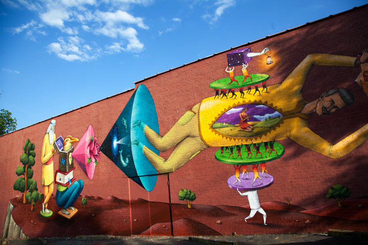Interesni Kazki at Living Walls Atlanta