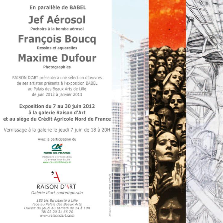Galerie Raison d'Art Presents:
