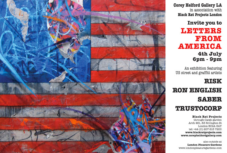 Black Rat Projects in Conjunction with The Corey Helford Gallery Present: