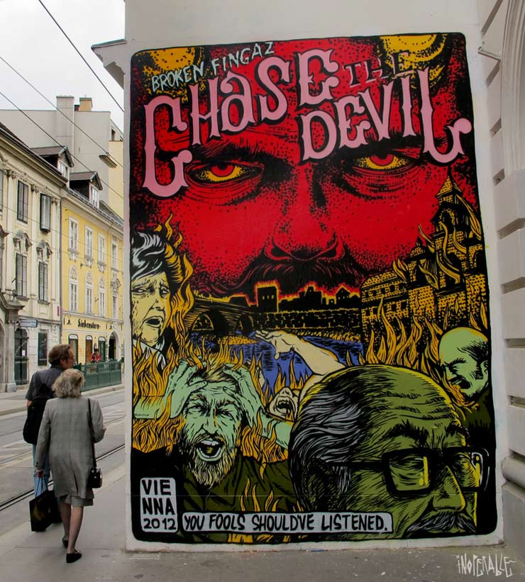 Inoperable Gallery Presents: Broken Fingaz Solo Show. (Vienna, Austria)