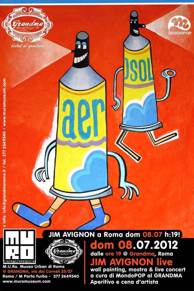 Museo Urban Di Roma Presents: Jim Avignon Live (Rome, Italy)