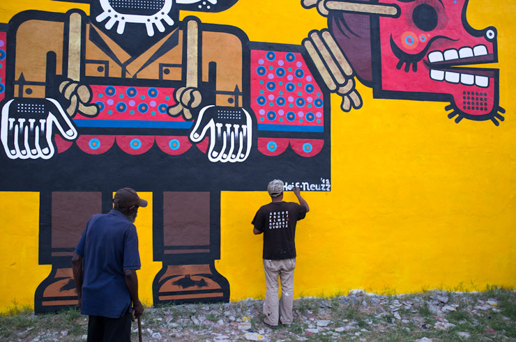 Priceless Culture: Mexican Artist Neuzz in Atlanta For Living Walls ...