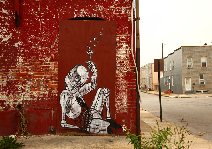 Pixel Pancho and 2501 in Unsanctioned Baltimore