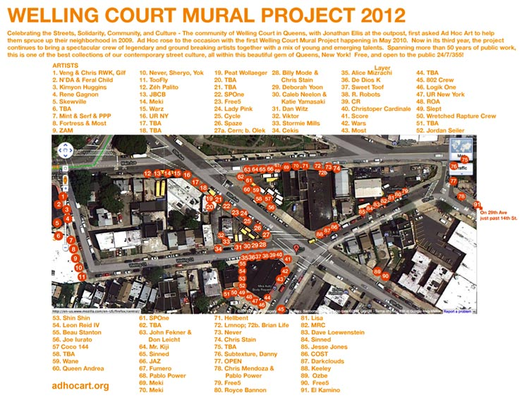 Welling Court: A New York Mural Block Party Like No Other