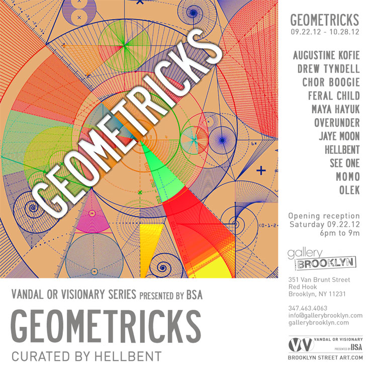 BSA Presents GEOMETRICKS, Curated by Hellbent