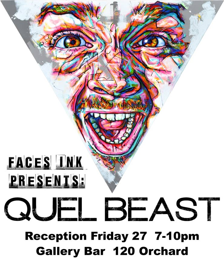 Faces Ink Presents: Quel Beast Solo Reception at Gallery Bar (Manhattan, NY)