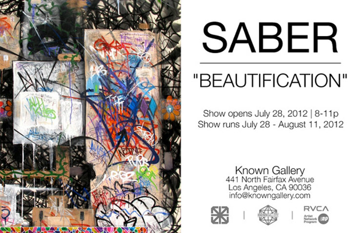 Known Gallery Presents: Saber