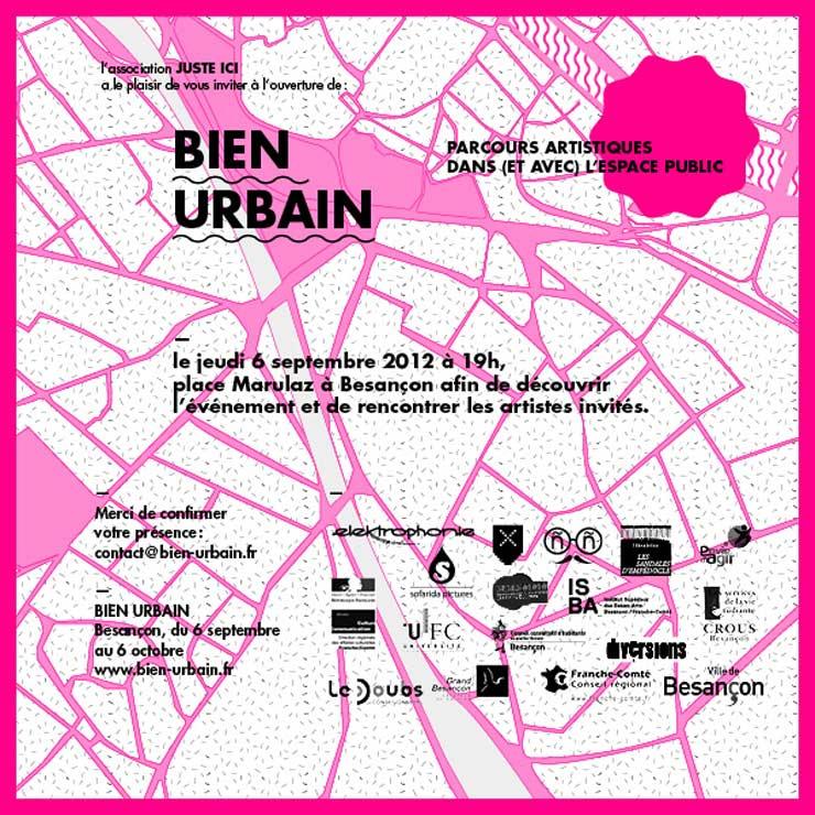 Festival Bien Urbain 2012 (Besançon, France)