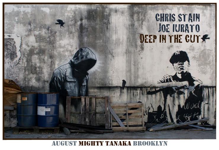 Mighty Tanaka Gallery Presents: Chris Stain and Joe Iurato