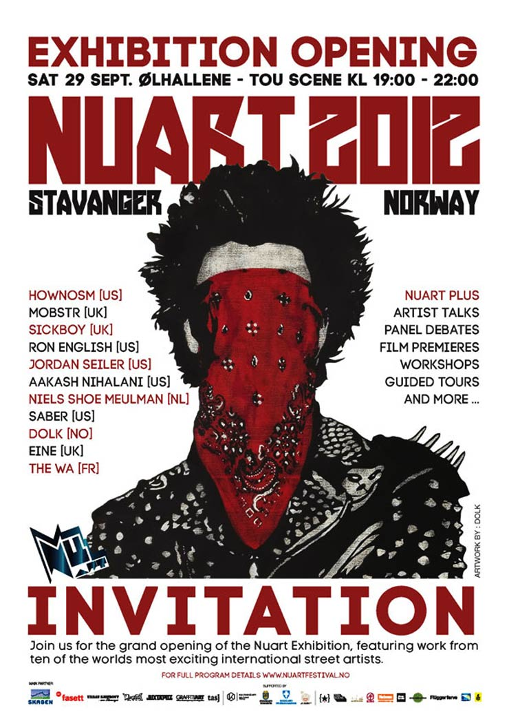 NUART FESTIVAL Presents: Nuart 2012 (Stavanger, Norway)