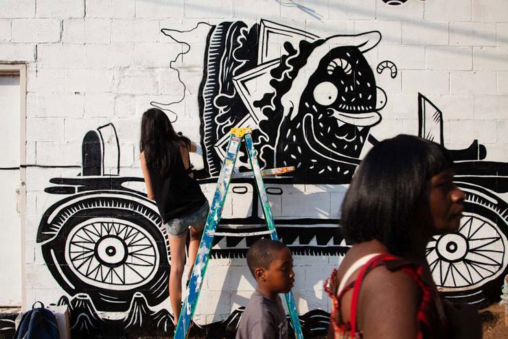 Living Walls Atlanta 2012 Begins, 26 Artists Converge!