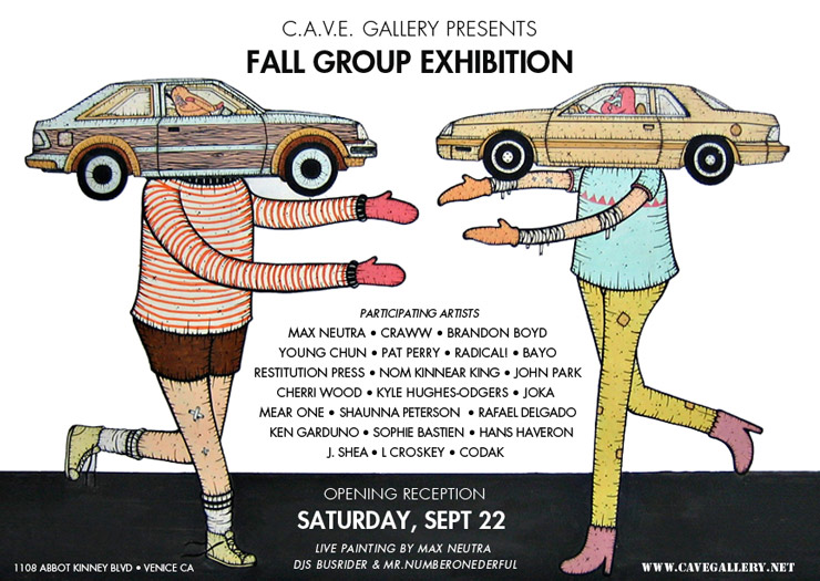 C.A.V.E. Gallery Presents: Fall Group Exhibition (Venice Beach, CA)