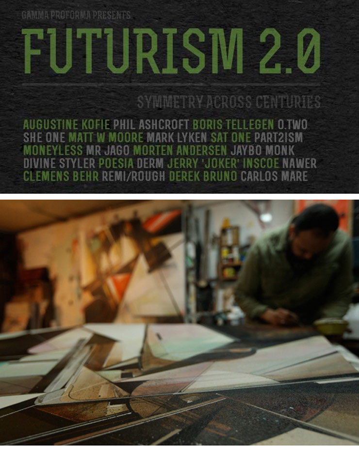 Gamma Proforma Presents: Futurism 2.0 A Group Exhibition (London, UK)