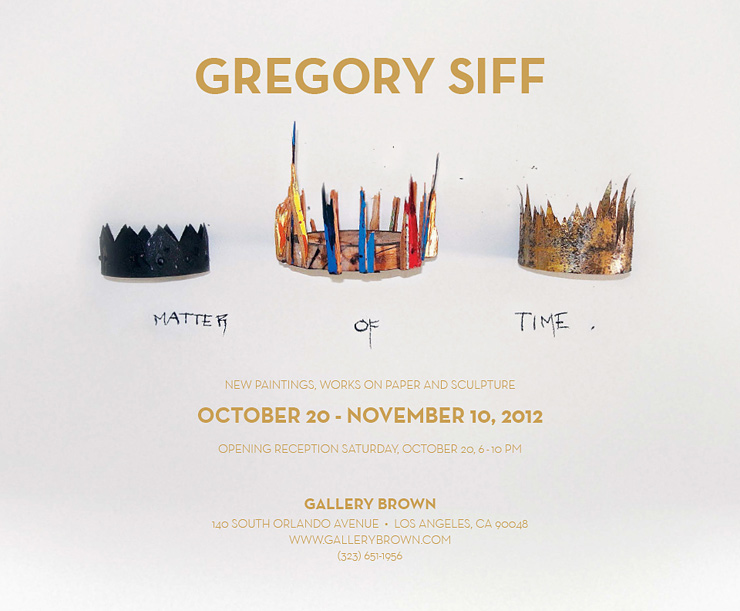 Gallery Brown Presents: Gregory Siff